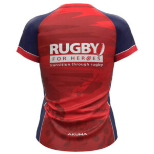 Ladies Semi-Fit Rugby Shirt – Round