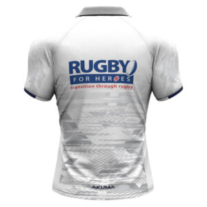 Men's Semi-Fit Rugby Shirt – Trad White