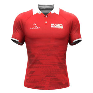 Men's Semi-Fit Rugby Shirt – Trad Red