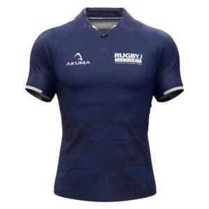 Men's Semi-Fit Rugby Shirt – Trad Blue